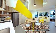 Großzügig: Die Zimmerkategorie 6 Bedroom Duplex