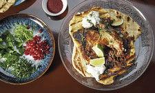 Beliebte Offerten: Serviert wird authentisches Streetfood aus Israel