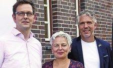 Haben das neue Kursangebot gemeinsam entwickelt: (von links) Bernhard Fischer-Eymann, Carmen Szkolaja und Björn Grimm.