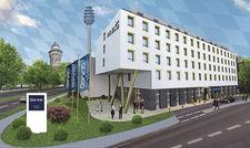 Macht die 60 voll: Der Pachtvertrag für das noch zu errichtende Dorint Hansapark Nürnberg wurde am Geburtstagsabend unterzeichnet.