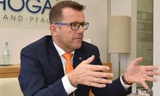 Verbandsarbeit in Rheinland-Pfalz: DEHOGA-Landespräsident Gereon Haumann