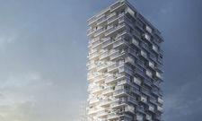 Eindrucksvoller Hotelturm: Das neue Meliá erstreckt sich über 23 Stockwerke