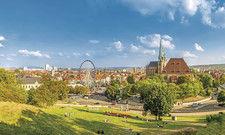 Erfurt: In der Landeshauptstadt Thüringens findet 2021 die Bundesgartenschau statt. Mehrere Hoteleröffnungen stehen an.