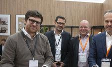 Vorfreude: von links Michael Friedrich, CEO Success Hotel Group, Dr. Thomas Leib, Chief Acquisition Officer Success Hotel Group, Martin Bowen, Head of Development, DACH IHG, Mario Maxeiner, Managing Director, IHG Northern Europe