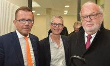 Die Dehoga-Fraktion: (von links) Gereon Haumann mit Verbandsgeschäftsführerin Anna Roeren-Bergs und Rechtsanwalt Rolf Bietmann
