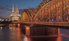 Köln leuchtet: Für die Hoteliers der Domstadt ist 2019 bisher ein Wachstumsjahr