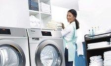 Die Menge macht's:Eine Waschmaschine sollte nieüberladen werden.
