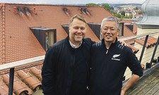 Ergänzen sich: Anton Schmaus (links) und Atsushi Sugimoto