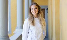 Siegerlächeln: Marie Weskott, Jungköchin im Sternerestaurant Purs in Andernach