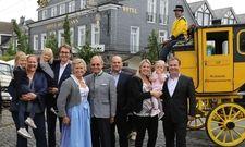 Eine Kutsche zum Jubiläum: Die Hotelierfamilie Deimann knüpft an alte Traditionen an