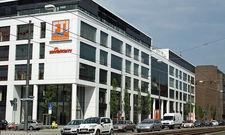 So sieht sie aus: Die FTI-Zentrale in München