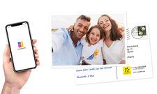 Per App zur analogen Karte: Das ermöglicht der Anbieter MyPostcard