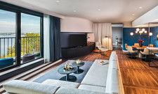 Weitläufig: Die Prestige Lake Suite ist insgesamt 113 Quadratmeter groß