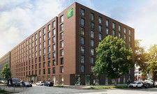 So sieht es aus: Das Holiday Inn Hamburg Berliner Tor