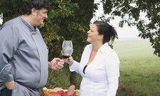 Haben ihr Glück im Taunus gefunden: Ulla und Uwe Weber servieren den Gästen des Ess Webers, was ihnen selbst gefällt und schmeckt