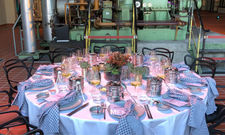 Originell: Dinner in der Event-Location Grand Hall Zollverein