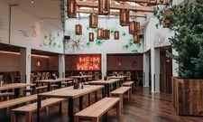 Weitläufiges Lokal: Das Heimwerk bietet 190 Sitzplätze auf 300 Quadratmetern