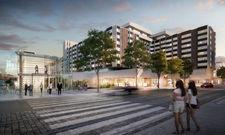 Top-Lage: Das künftige Golden Prague Hotel managed by Fairmont