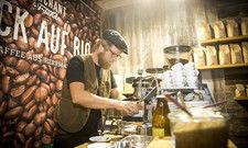 Kaffeekultur: Die Aussteller zeigen sich zufrieden mit der Messe