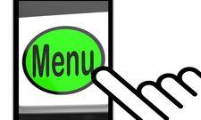 Wichtiger Navigationspunkt: Gäste wollen sich vorab über die Menü-Angebote informieren