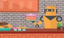 Automatisierung: In einigen Lokalen geben schon Roboter das Essen aus