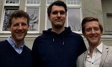 Das Selina-Team: (von links) Magnus Busch, Max Oehler und Graham Major-Ex