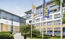 Stillgelegt: Die ehemalige deutsche Thomas-Cook-Zentrale in Oberursel