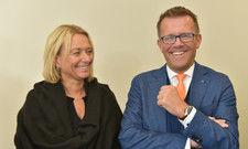 Kämpferisch und zuversichtlich: Dehoga-Präsident Gereon Haumann, hier mit Ehefrau Susanne, bei der Urteilsverkündung am Landgericht Bad Kreuznach
