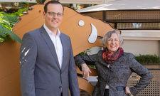 Sind sich einig: Marek Gawel (links) und seine Tante Vera Kellner