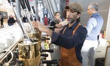 """Heißumkämpft: Bei den neuen Wettbewerben """"Stuttgart Comandante Championship"""" und """"Espresso Italiano Championship"""" werden die besten Baristi der Branche geehrt."""