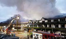 Erschreckender Anblick: Das Hotel Traube Tonbach am Morgen des 5. Januars