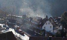 Nicht mehr zu retten: Das Stammhaus des Hotels Traube Tonbach, in dem die Schwarzwaldstube und zwei weitere Restaurants untergebracht waren.