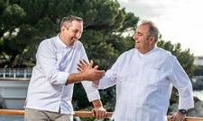 Willkommen: Küchenchef Sébastien Broda (links) arbeiten künftig eng mit Executive Chef Arnaud Poëtte zusammen
