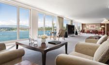 Luxus am Genfer See: Die Königliche Suite im Hotel President Wilson
