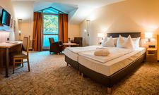 Mehr Komfort: Blick in eines der renovierten Zimmer im Vitalhtotel Jagdhof