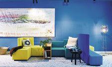 Blau, blau, blau: Das New Wave auf Norderney setzt auf frische Aquatöne