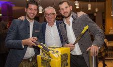 Haben sich etwas einfallen lassen: (von links) Mario Pabst, Ernst und Florian Mayer