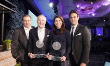 Preisträger (v.l.): Michael Mack, Karl J. Pojer, Ann-Kathrin Mack und Thomas Mack