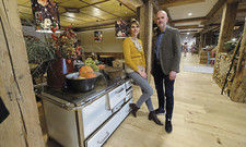 Stolz auf das neue Restaurant: Isidora Muthmann und Daniel Budzinski, beide vom Investor Holy AG