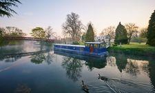 Floating Spa: So nennt das Monkey Estate Island Hotel seine Behandlungsräume auf dem Fluss
