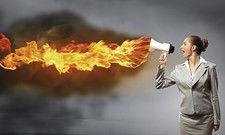 Falscher Ansatz: Wenn Chefs Feuer spucken