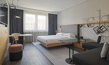 Newcomer: Zimmer im neuen Marriott Airport Frankfurt.