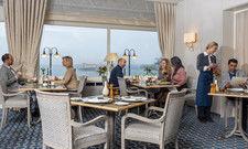 Neuer Look: Das Restaurant im Maritim Hotel Kiel mit seinem einzigartigen Ausblick