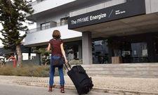 Prime Energize Hotel an der Algarve: Bei der Anreise bin ich müde und hoffe auf einen schnellen Check-in