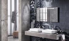 Für jedes Bad passend: Die Linie Option Basic mit Lichtleiste am oberen Spiegelrand
