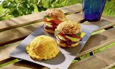 Überraschungseffekte: Aprikosen Sorbet und Obstburger aus dem Hause Carte d'Or