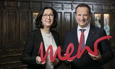 Neues Motto, neues Logo: Arcotel-Eigentümerin Dr. Renate Wimmer und Martin Lachout, Vorstand der Arcotel Hotel AG