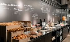 """So sieht """"schlanker Luxus"""" aus: Das Frühstücksbuffet im Ruby Lissi in Wien"""