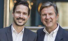 Vater und Sohn: Tim (links) und Dieter Wetzel