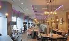 Open-Lobby-Konzept: Das Restaurant Traveler im Leonardo.